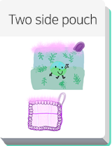 Two side pouch